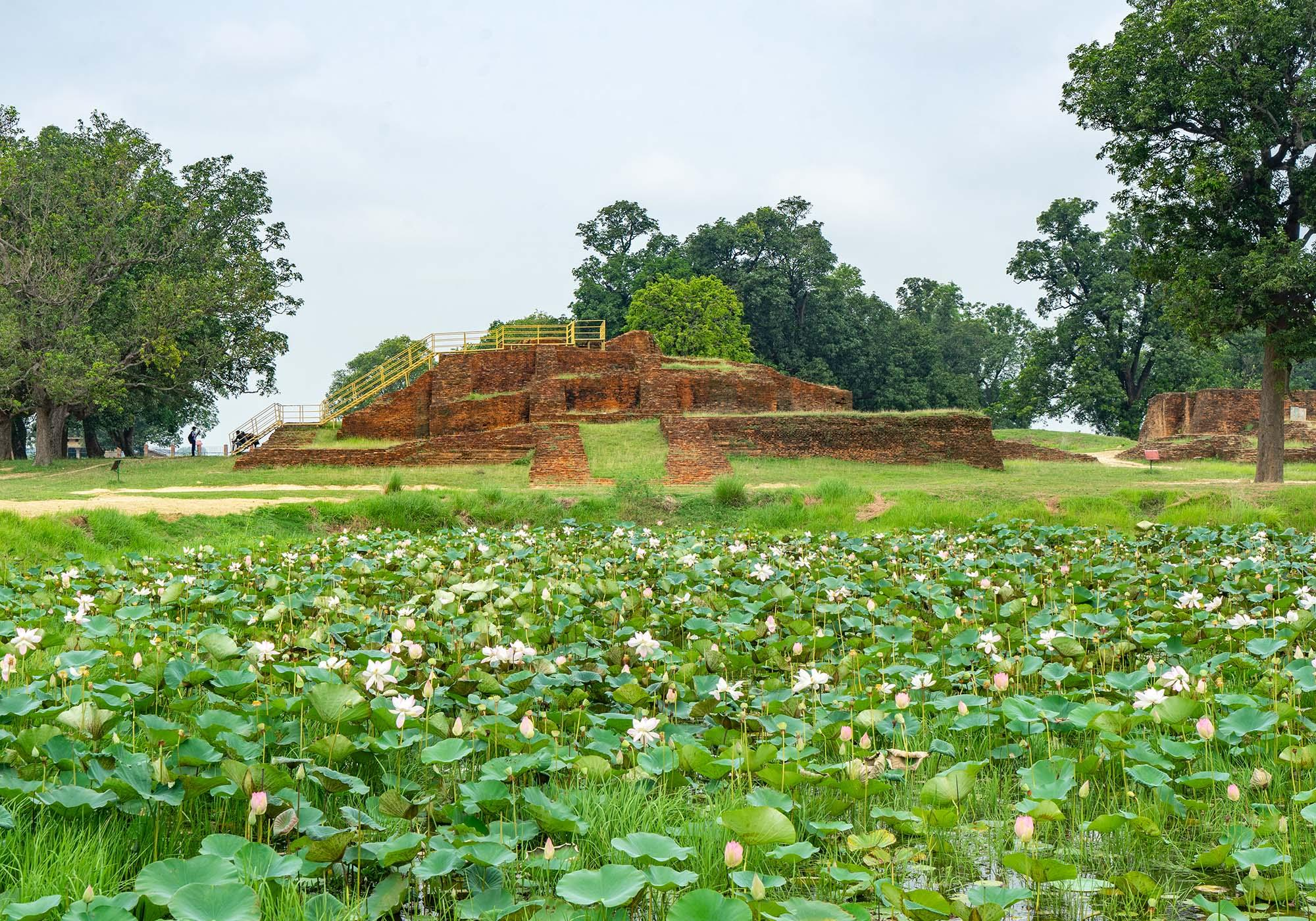 The stupa at Kudan which is believed to have been built to commemorate the meeting of King Suddhodhana and his son, Buddha, seven years after his enlightenment. – © Michael Turtle