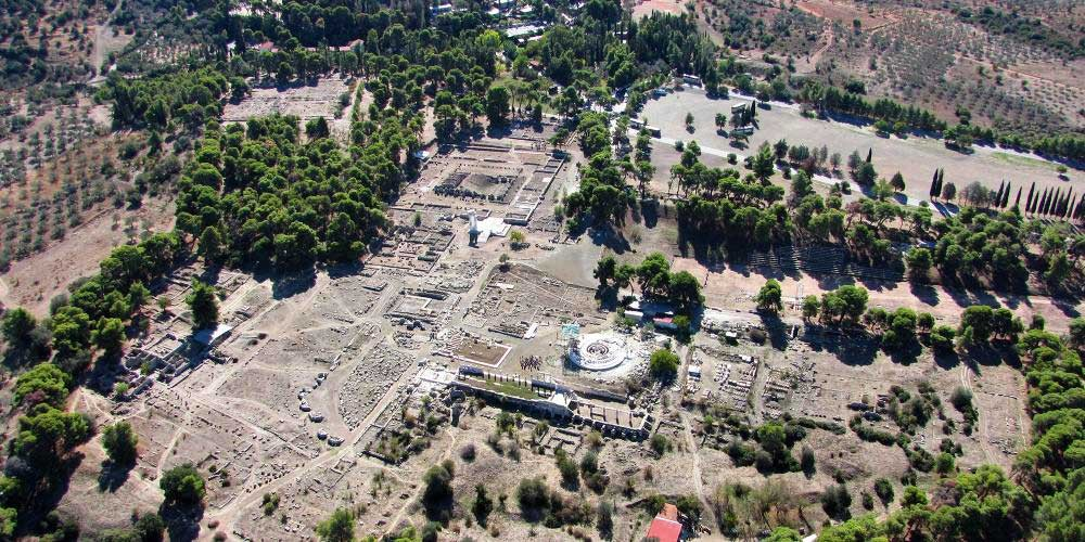 The sanctuary of Asklepios is a remarkable testament to the healing cults and practices of Greco-Roman antiquity. – © Hellenic Ministry of Culture and Sports / Ephorate of Antiquities of Argolida