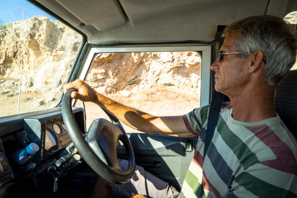 Doing a Jeep tour means you'll have a local guide with you who can show you the best places within the Akamas area. – © Michael Turtle