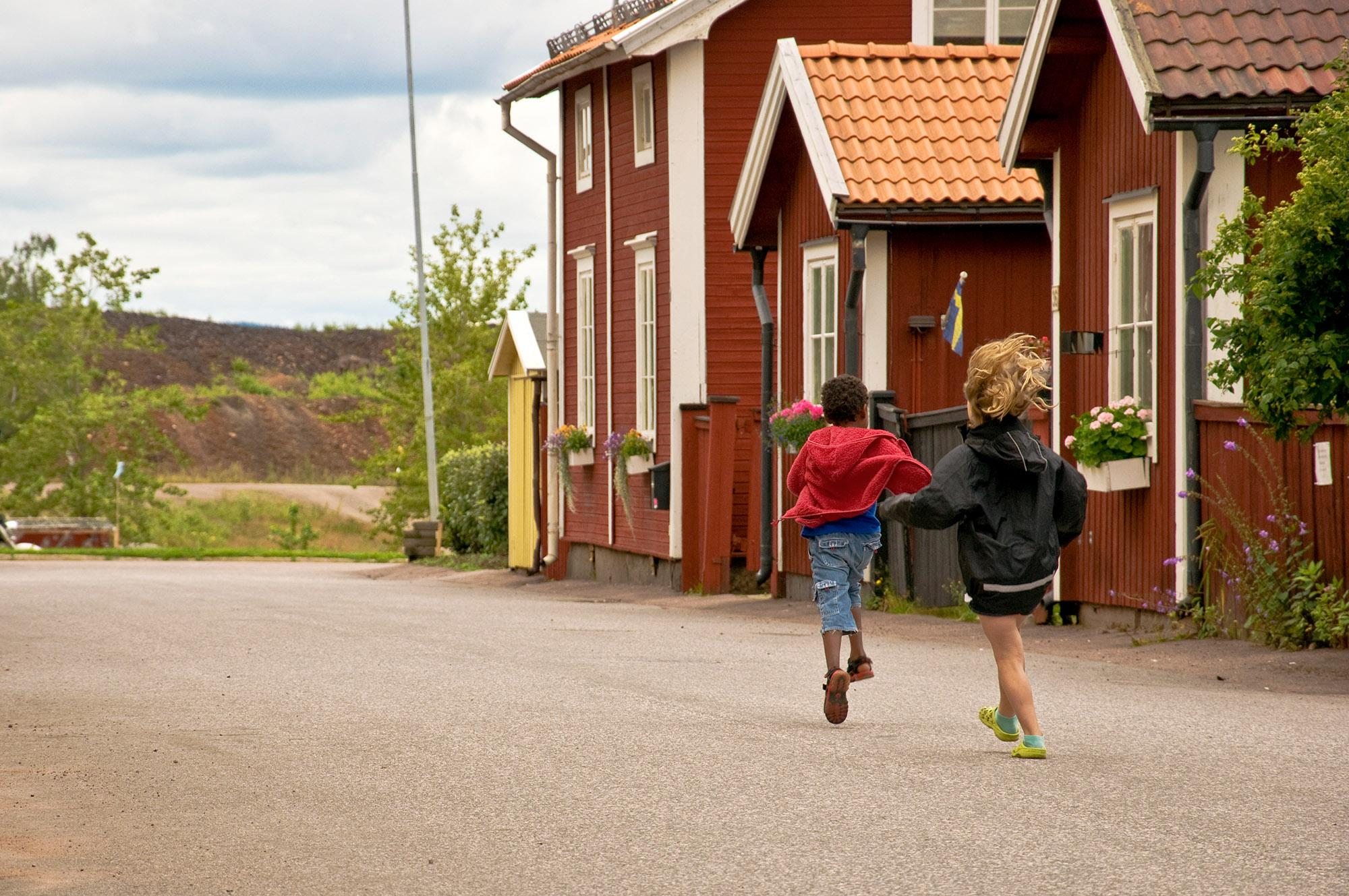 The Elsborg neigbourhood is where the miners once lived. – © Magnus Sjöberg