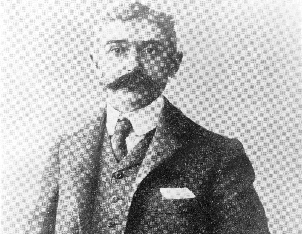 Baron Pierre de Coubertin was the founder of the modern Olympic Movement. – © International Olympic Academy