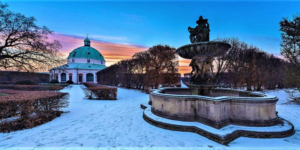 The Flower Garden is about 1,5 kilometre far from the Castle. Both gardens of Kroměříž are open all-year long so you can come here in every season, for example during the Christmas holiday. – © Tomas Vrtal