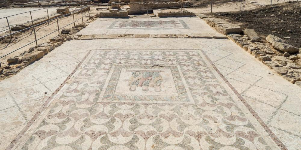 A busy trading route through Cyprus made many Roman merchants here wealthy and they used their money to build a city with grand houses and public buildings like baths and a theatre. – © Michael Turtle