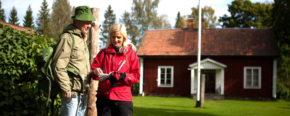 Signs and maps will help you to explore an interesting part of Swedish history with nature and culture combined. – © Michael Lindberg