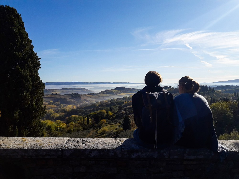 Come to San Gimignano and get happily lost in its history. – © Tina Fasulo / Share your Sangi