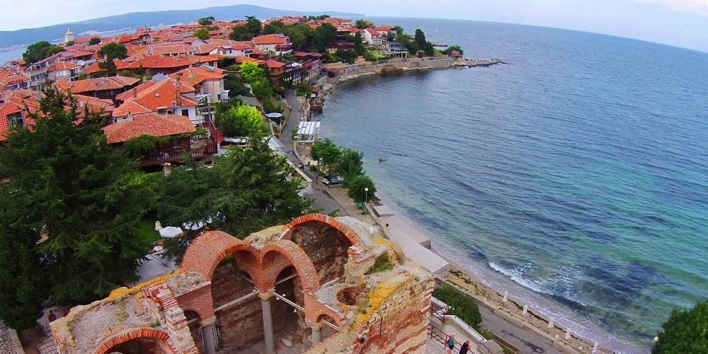 The Old Town of Nessebar has an impressive collection of historic buildings, including several churches that are considered to be cultural treasures of Bulgaria. – © Nessebar Municipality