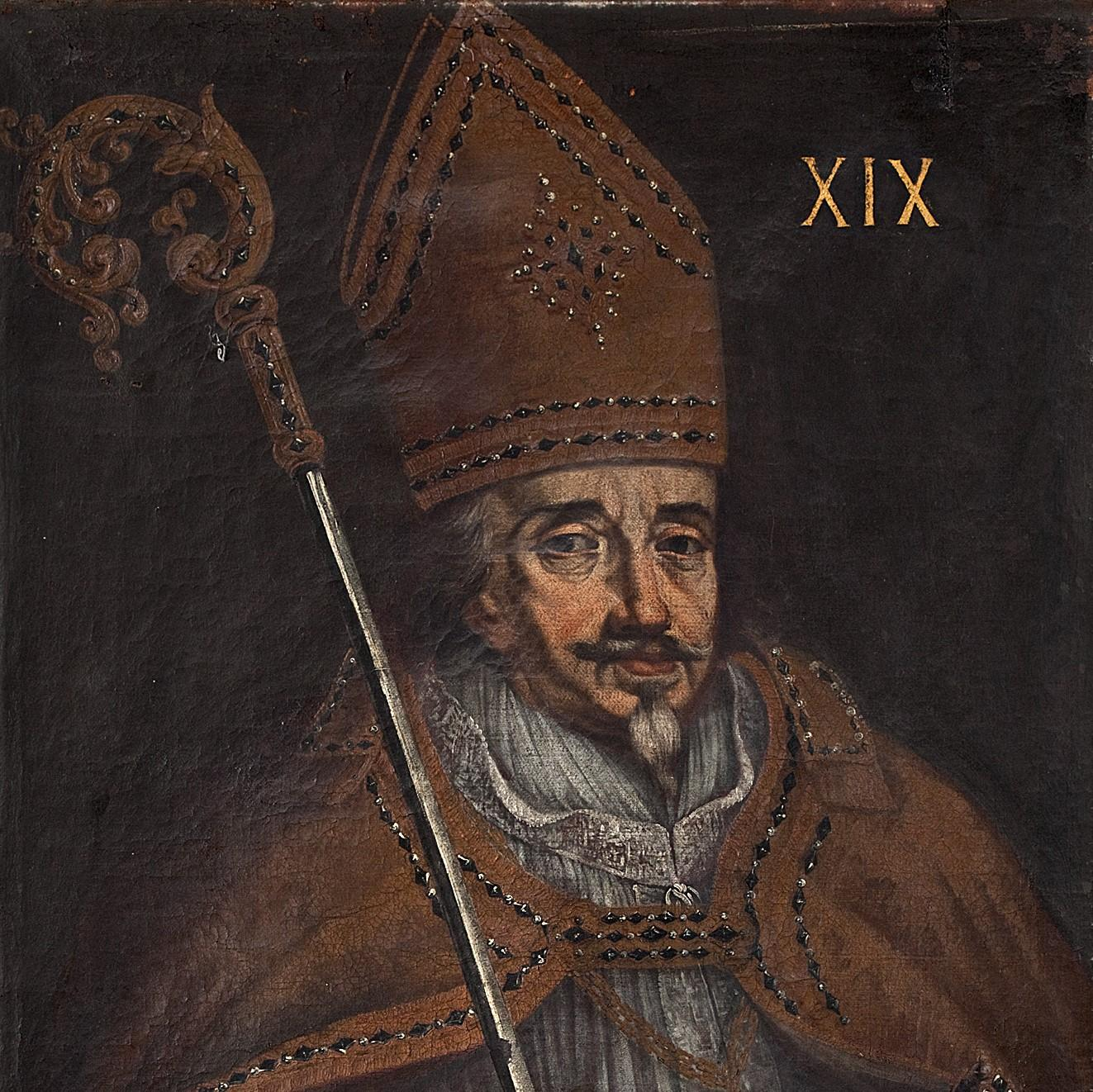 Portrait of the Bishop Bruno of Schauenburgh is displyed in the Archiepiscopal Castle. Besides promoting Kroměříž to the town, there had also built the Church of St. Moritz during his episcopate, many fountains and other architectural structures that you can find in the town even in the present day. - © Archive of the Archiepiscopal Castle Kroměříž