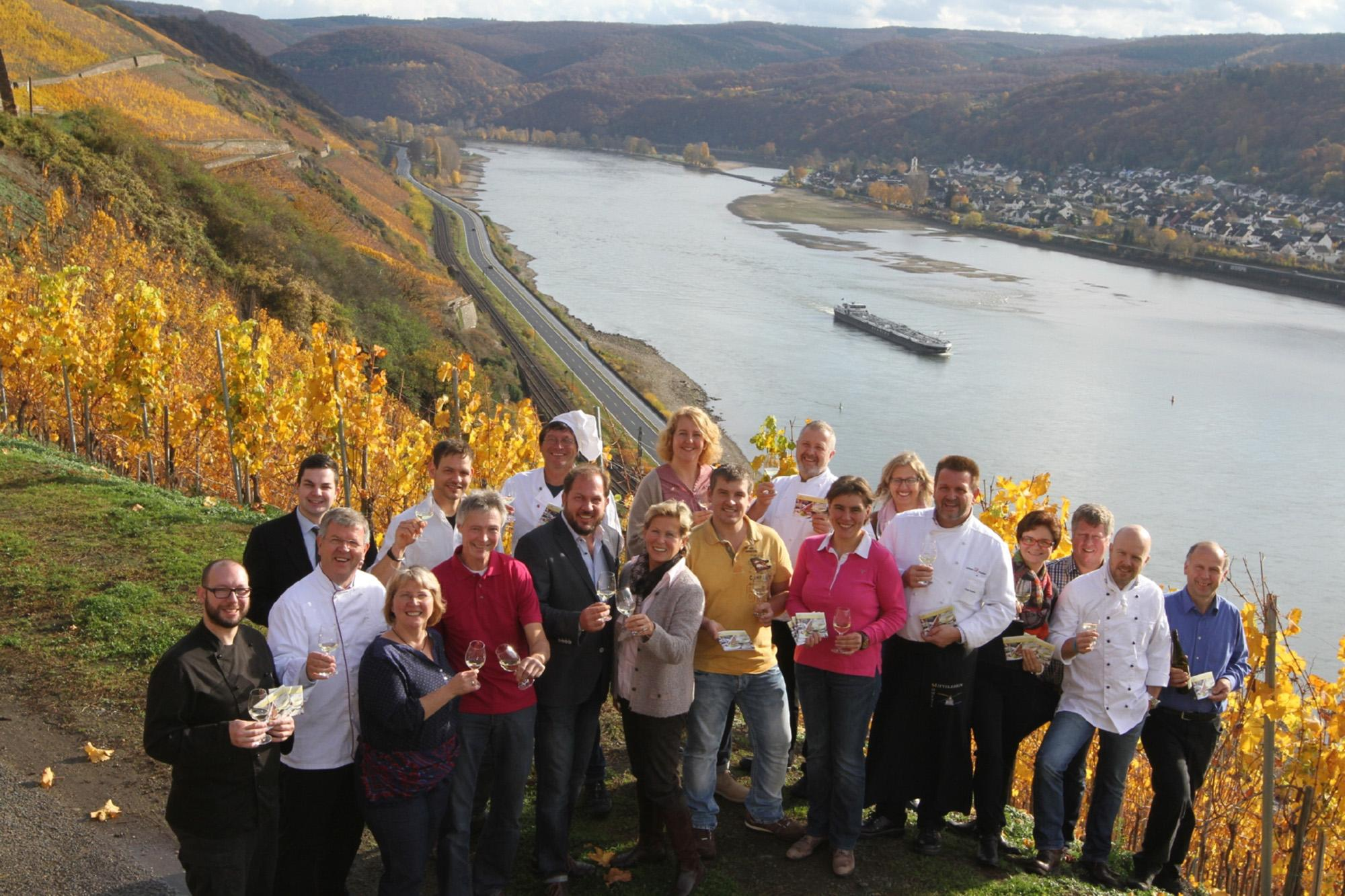 The successful Middlerhine Moments offer a dazzling array of events that combine culinary delights with cultural highlights. – © Suzanne Breitbach / Mittelrhein Wein e.V.