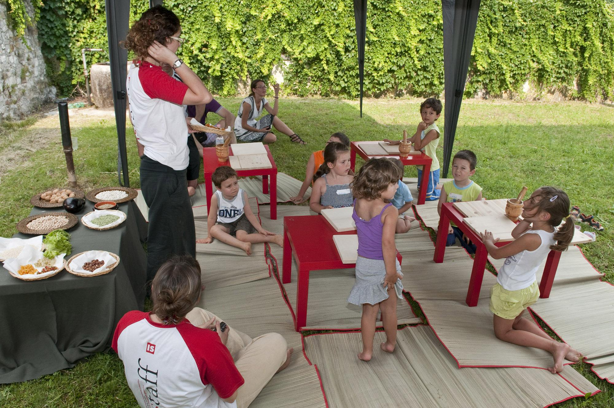 Aquileia Lab hosts educational and leisure workshops focused on the world of the ancient Romans. – © Gianluca Baronchelli