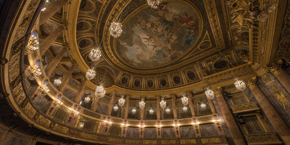 The Royal Opera House is one of the greatest works by the architect Ange-Jacques Gabriel. – © Thomas Garnier