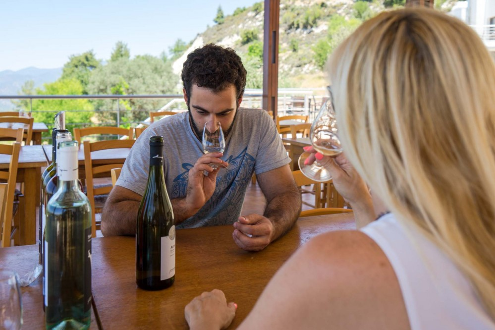 There is a range of tastings available at wineries along the seven official Wine Routes in Cyprus. – © Michael Turtle