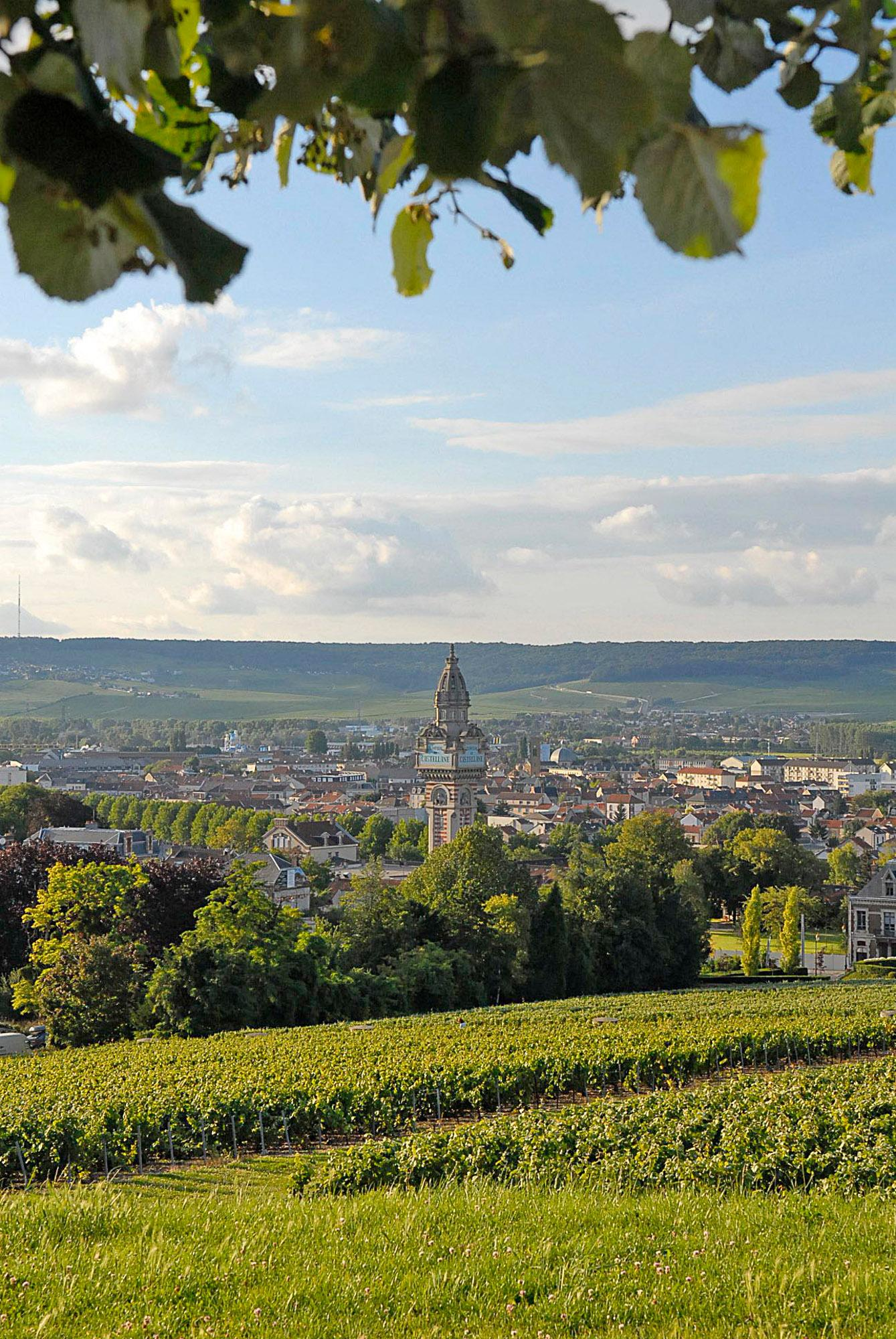 Epernay is located at the heart of the Champagne region. – © City of Epernay
