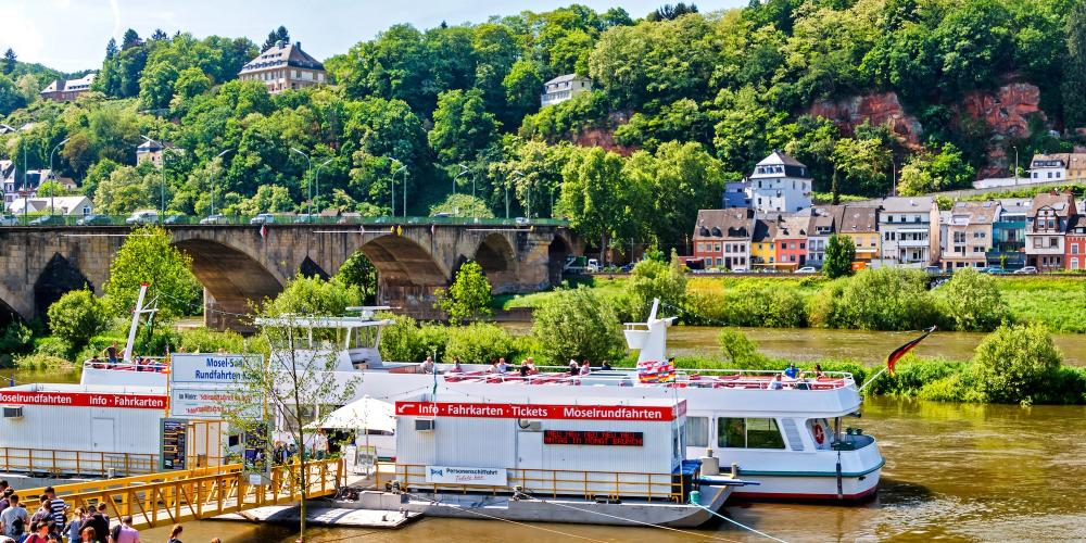 Even the ancient Romans were known to enjoy a boat trip on the Moselle or the Saar. – © Moskwa / Shutterstock
