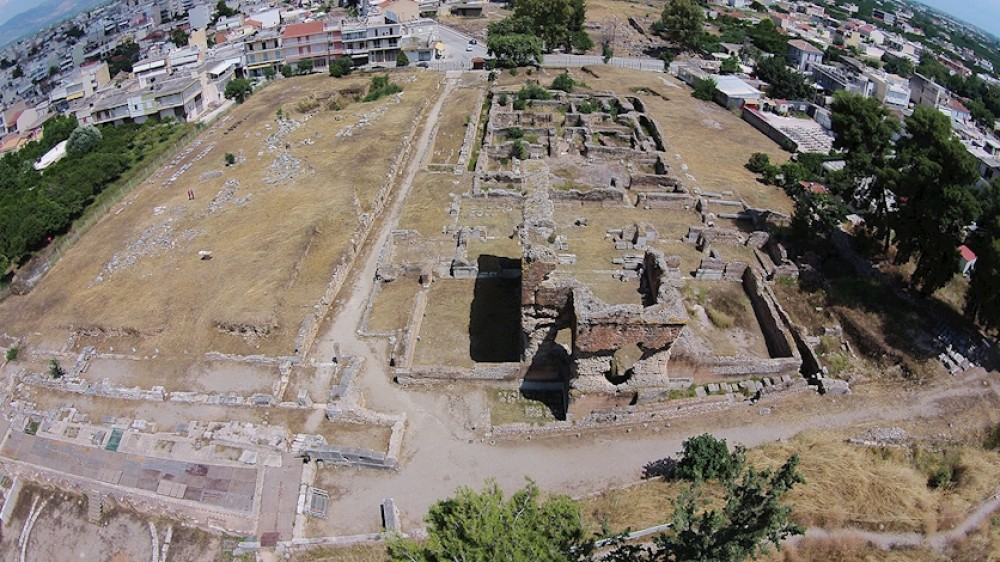 The archaeological site within the city of Argos includes many important ancient monuments such as the Theater, the Hadrian's Aqueduct, the Baths and the Roman Agora. – © Hellenic Ministry of Culture and Sports / Ephorate of Antiquities of Argolida
