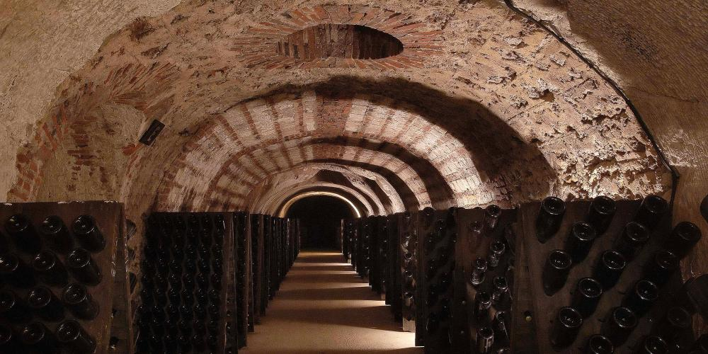 Wine caves at Avenue de Champagne in Epernay. – © Michel Jolyot