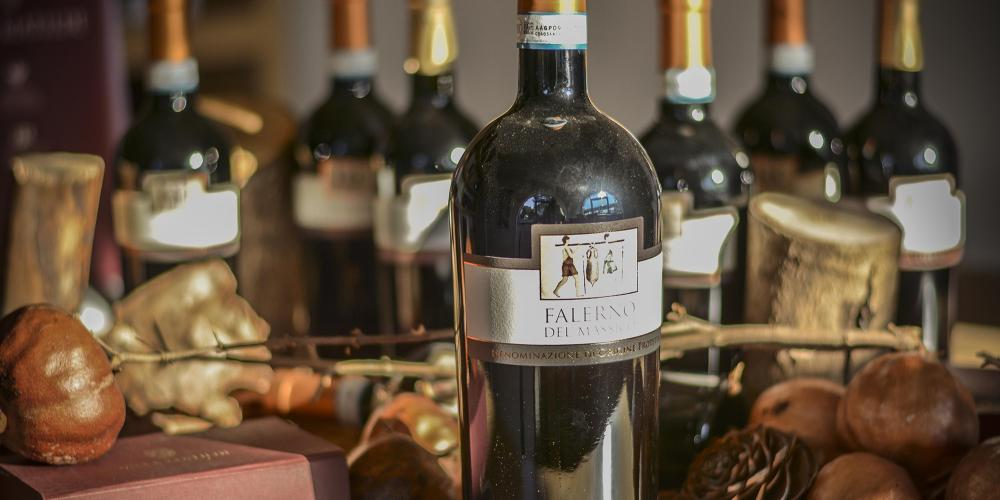 The fruit of our work: the Falerno del Massico. – © Anna Ciotola