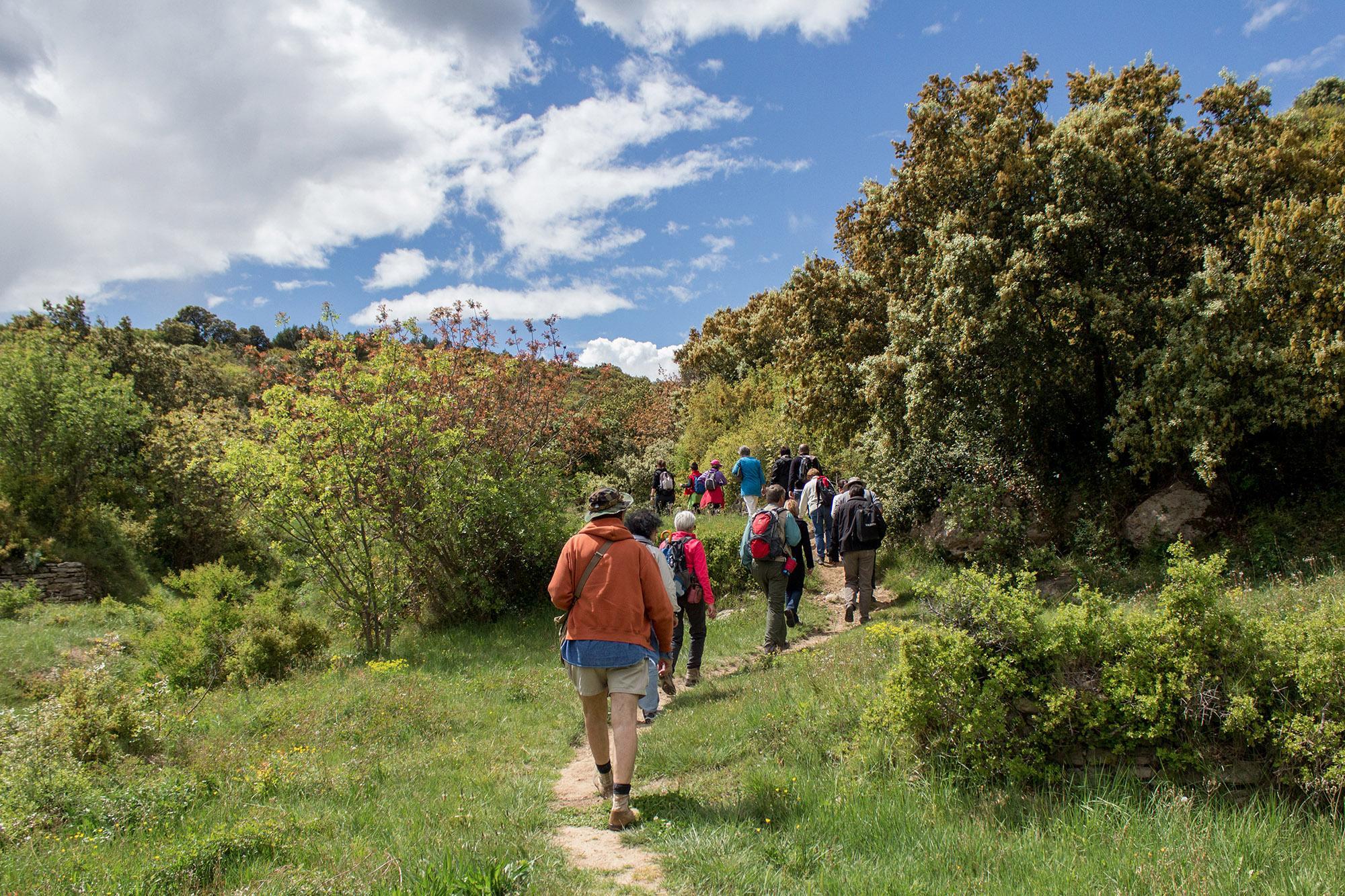 150 km of marked trails around the Gorges du Gardon. – © A. Mendoza / SMGG