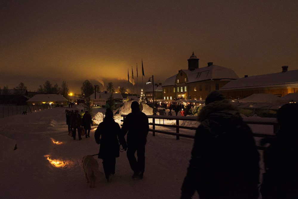 At the Christmas Fair, 140 stands offers a range of high-quality products related to winter and Christmas. – © Per Eriksson