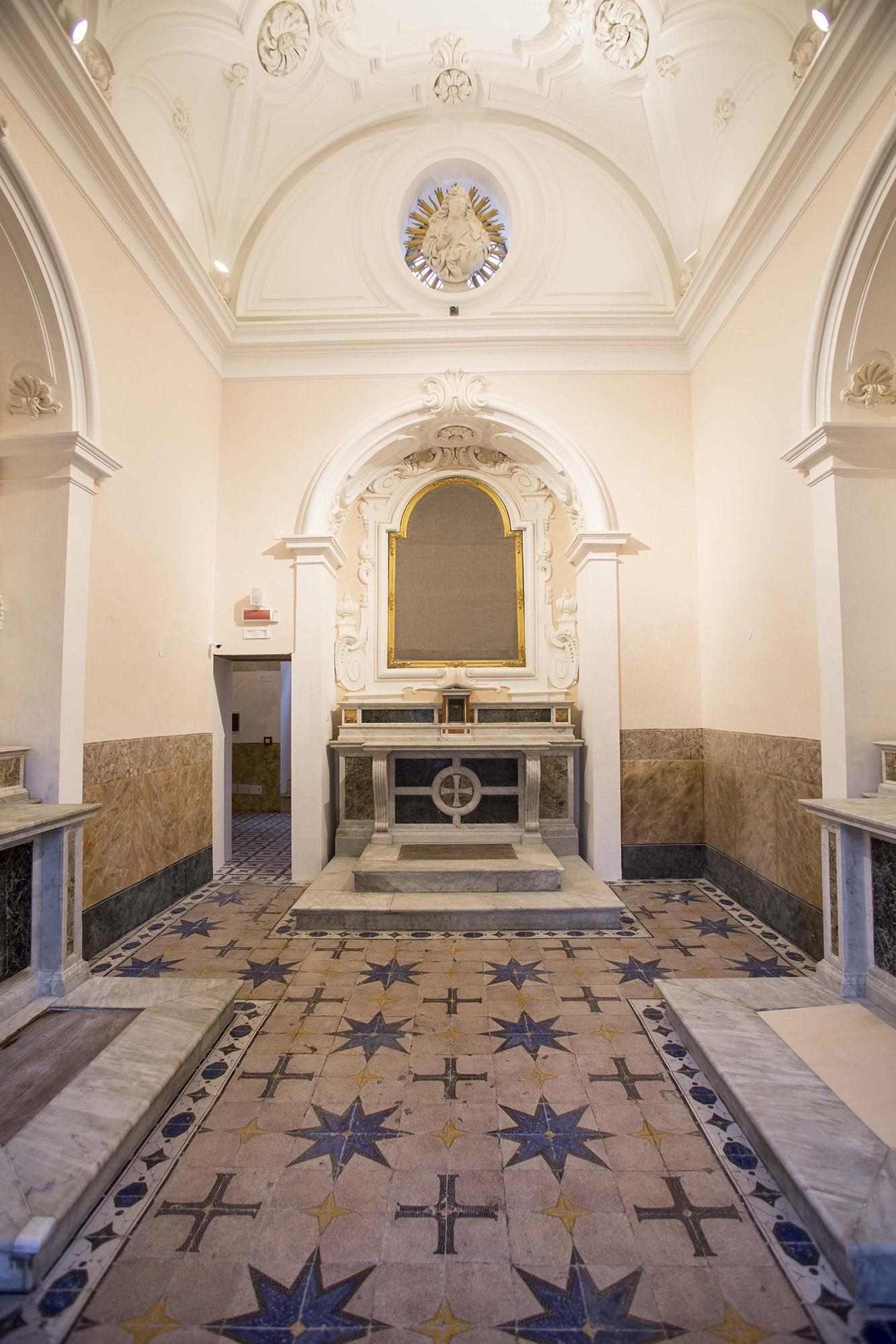 Chapel at the Archaeological Museum of Ancient Calatia. – © Archivio Polo Museale della Campania