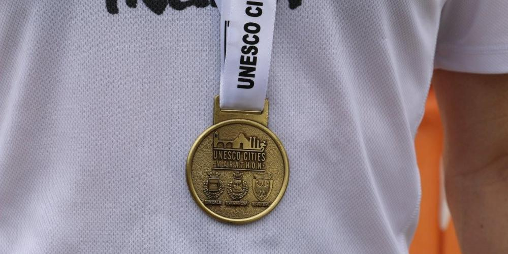 You can enter the marathon, which is the only race in the world to connect three sites connected by UNESCO. – © A. Fogar