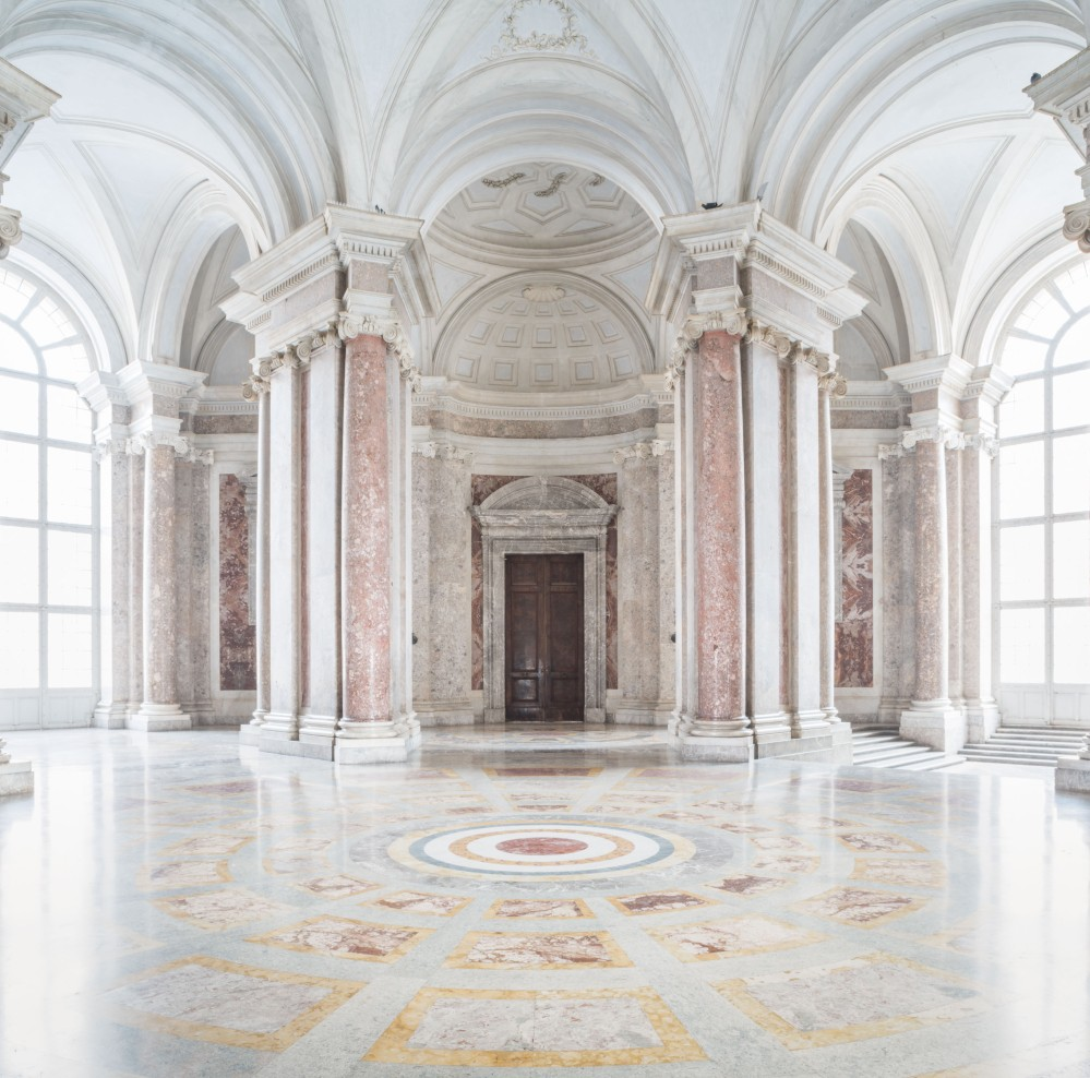 """In 1997, Caserta was designated a UNESCO World Heritage Site—its nomination described it as """"the 'swan song' of the spectacular art of the Baroque period, from which it adopted all the features needed to create the illusions of a multi-directional space."""" – © Mariano De Angelis"""