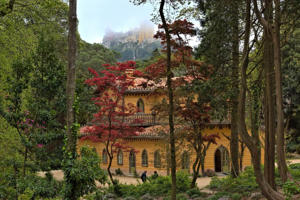 The Chalet of the Countess of Edla lies at the western end of the Park of Pena. – © PSML / EMIGUS