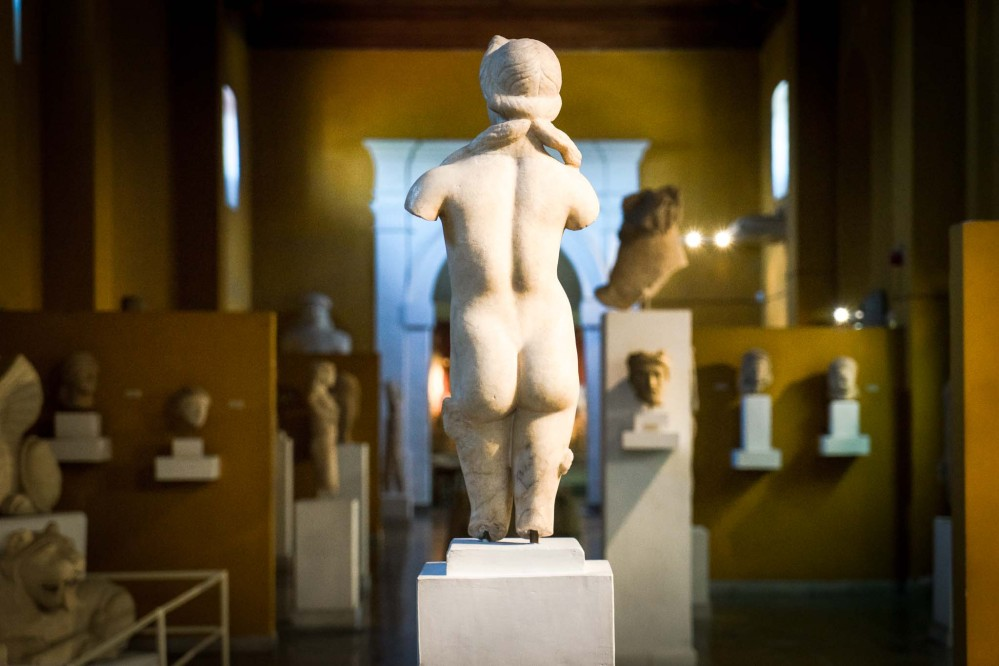 A statue of Aphrodite at the Cyprus Museum in the capital, Lefkosia (Nicosia). – © Michael Turtle