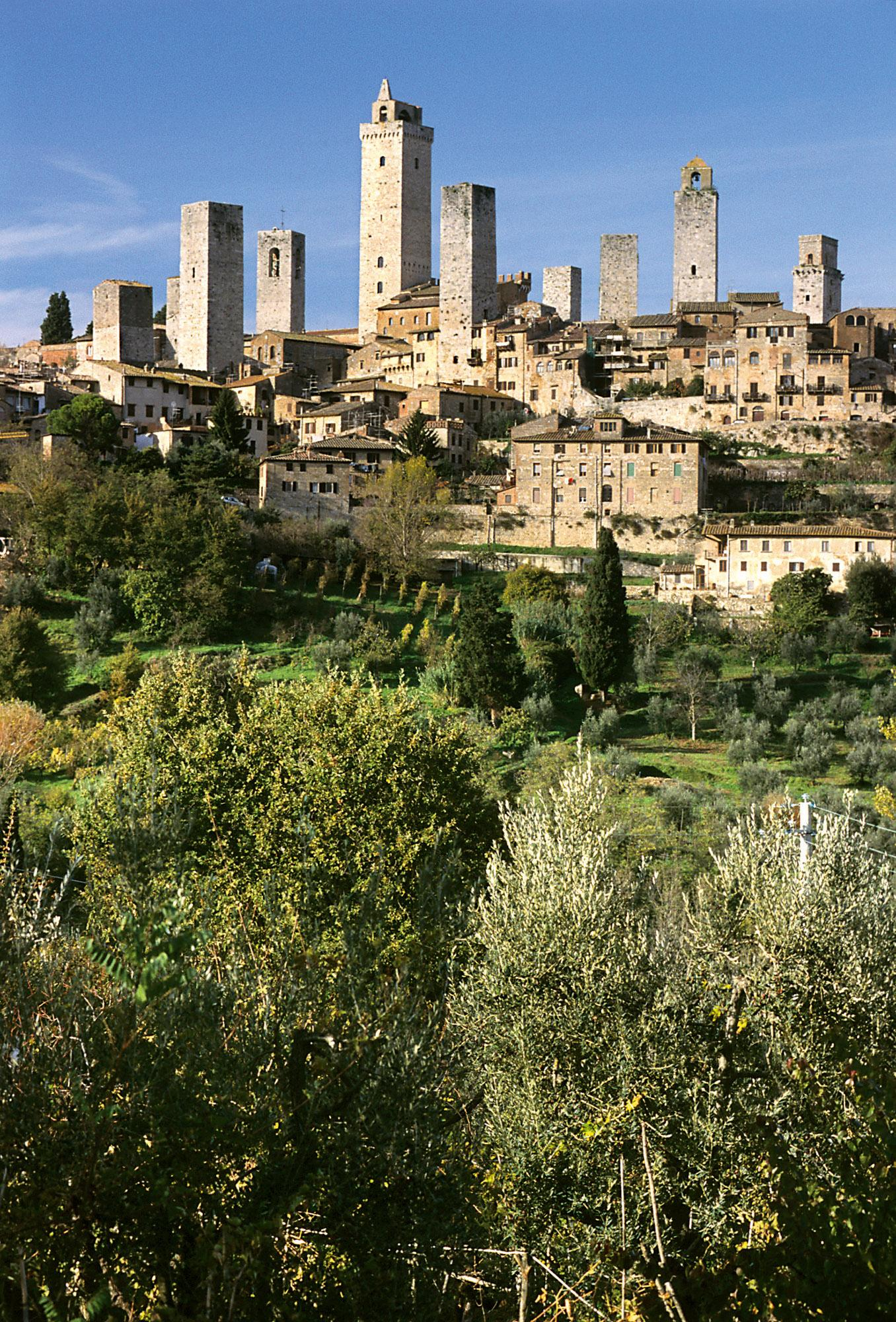 An iconic view of the San Gimignano historical centre– © Comune di San Gimignano