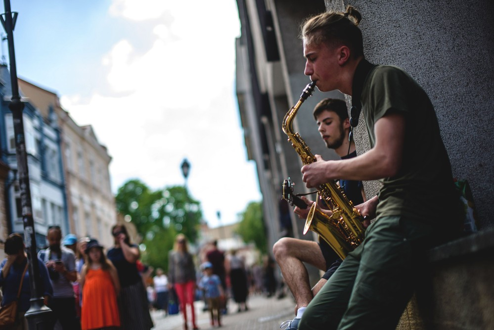 Street Music Day fills the air with melodies. – © www.vilnius-tourism.lt
