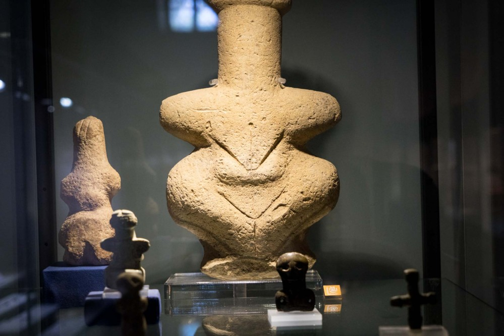 The Cyprus Museum at Lefkosia (Nicosia) has a large collection of relics related to the development of Aphrodite on the island. – © Michael Turtle