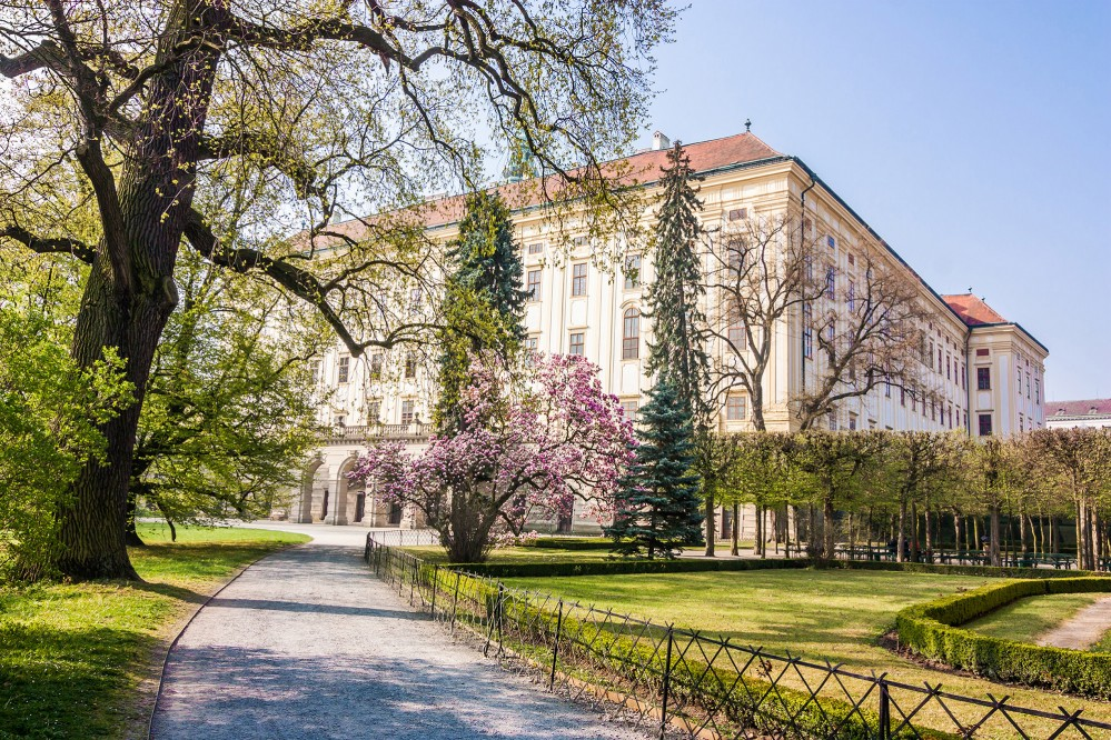The Archbishop's Palace. The castle and gardens in Kroměříž serve as a fine example of a Baroque residential complex. – © Petr Baumann / Shutterstock.com