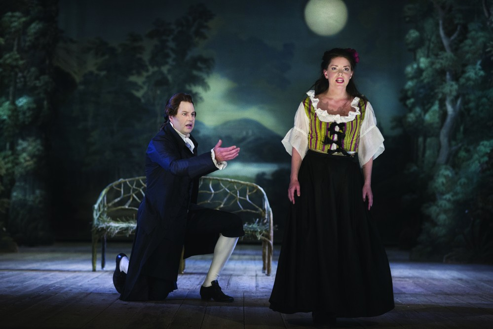 When the curtain rises and the opera performance begins, the 18th century atmosphere will be intensified. Do not be surprised, if you feel as if you have ended up among royalties and courtiers in 1766, when it all began... – © Photo Markus Gårder