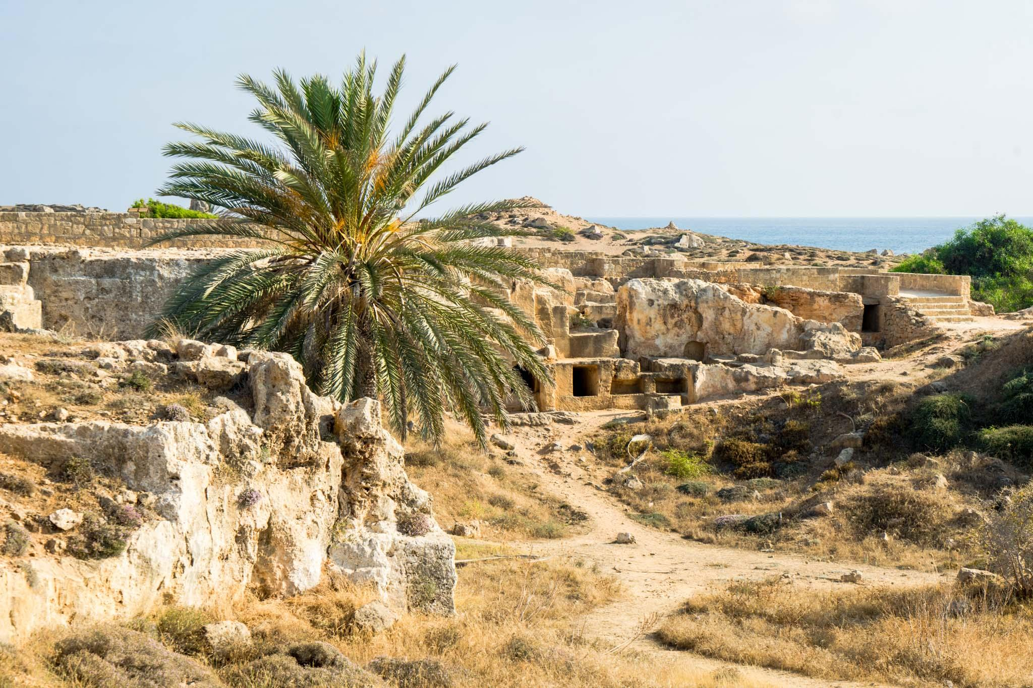 The Tombs of the Kings was used from about the 4th century BC until the 3rd century AD as the burial place for the wealthy and powerful of Pafos. - © Michael Turtle
