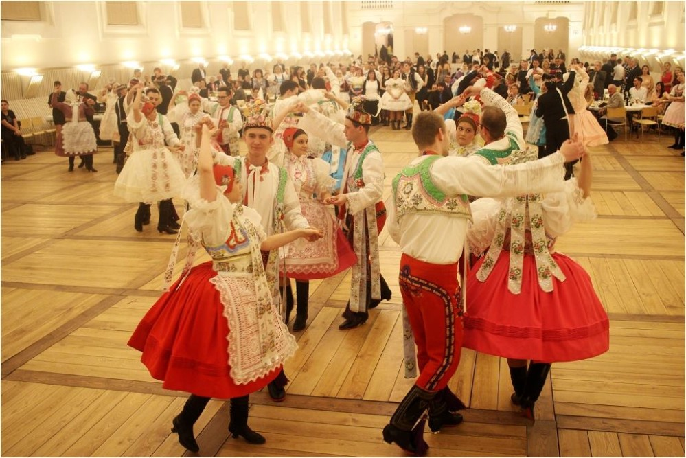 Riding-Halls at both Lednice and Valtice Castles host local balls, usually in February. – © Renata Hasilová