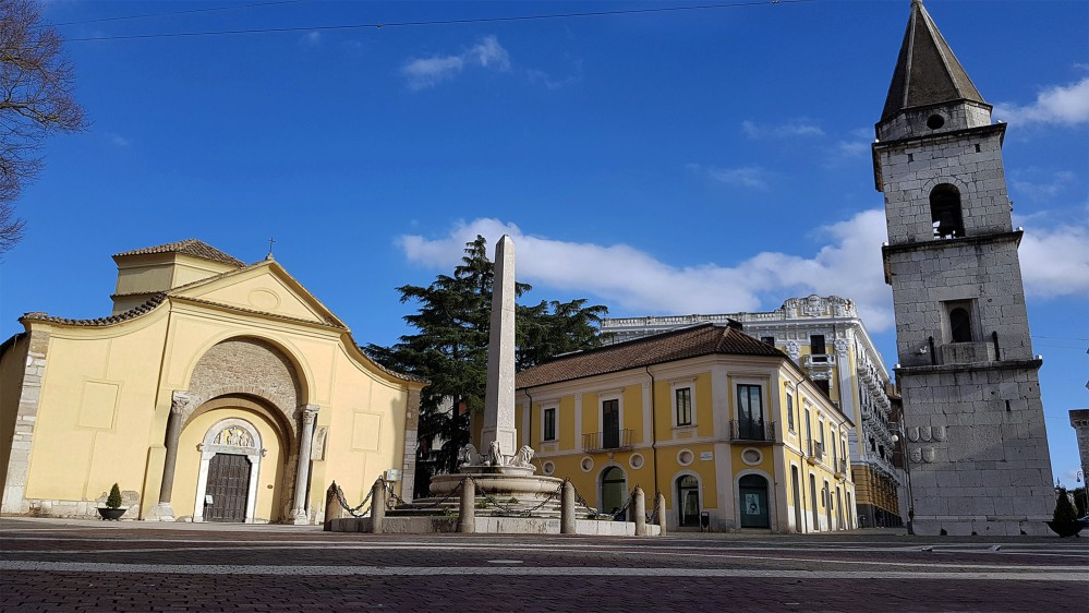 The Church of Santa Sofia, a triumph of Longobard art that was declared a UNESCO World Heritage Site in 2011, as part of a group of seven historic building complexes inscribed as Longobards in Italy, Places of Power (568–774 A.D.). – © Comune di Benevento