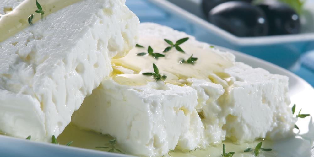 Une variété de fromage de Tracheia : la féta – © F. Baltazis / VisitGreece
