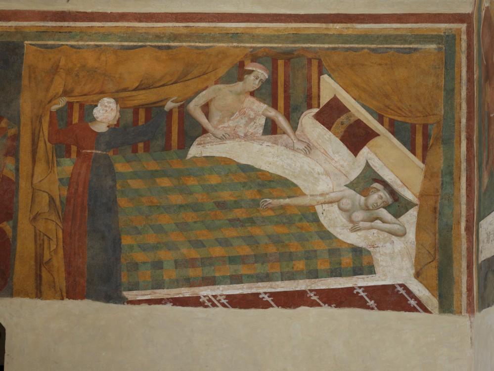 Inside the Camera del Podestà, you can glimpse into medieval times through magnificent frescoes. – © Musei Civici San Gimignano