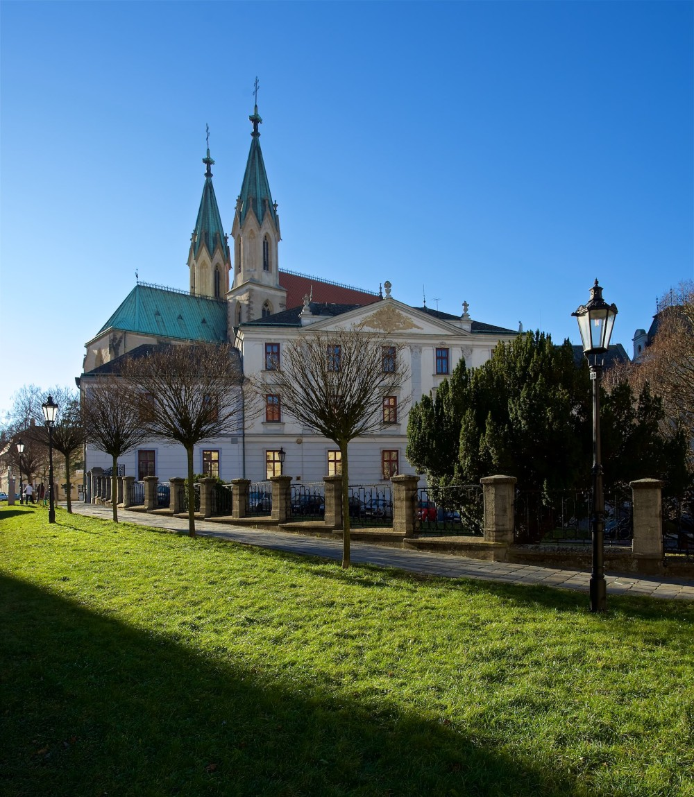 The Municipal Monument Reserve Kroměříž was established in 1978 and covers the historical centre of the town including the church of St. Moritz and the Archiepiscopal Lyceum shown in this picture. – © Tomas Vrtal