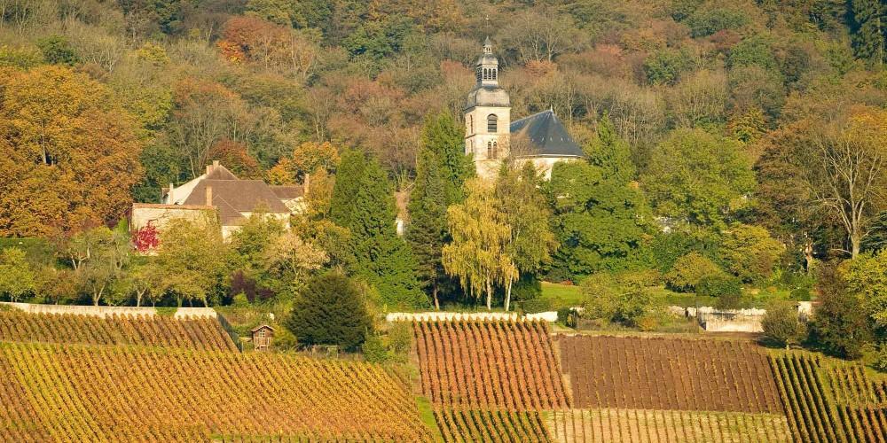 Abbaye Saint-Pierre d'Hautvillers is the final resting place of Dom Perignon. – © Michel Guillard