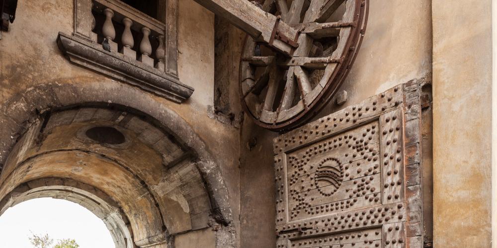 View inside Cividale Gate of Palmanova – © Alessio Buldrin- Foto e Grafica Immagini Srl
