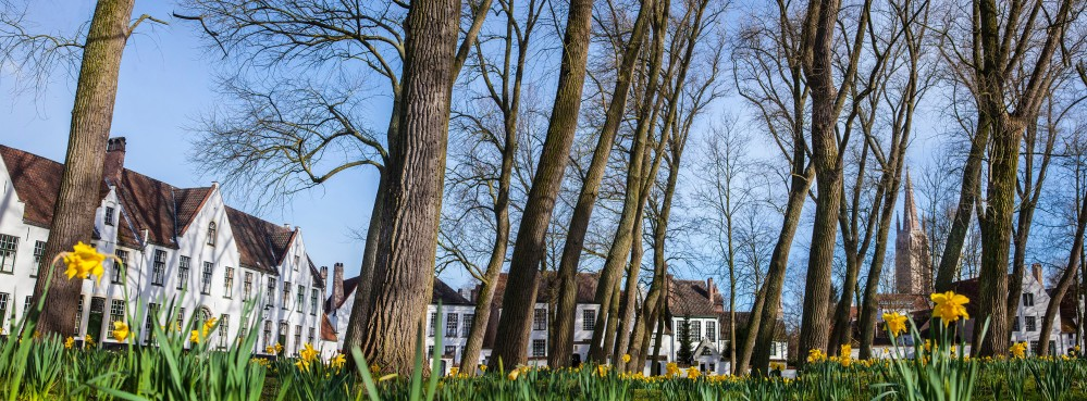 Spring in Bruges, at the Beguinage. – © Jan D'Hondt / VisitBruges