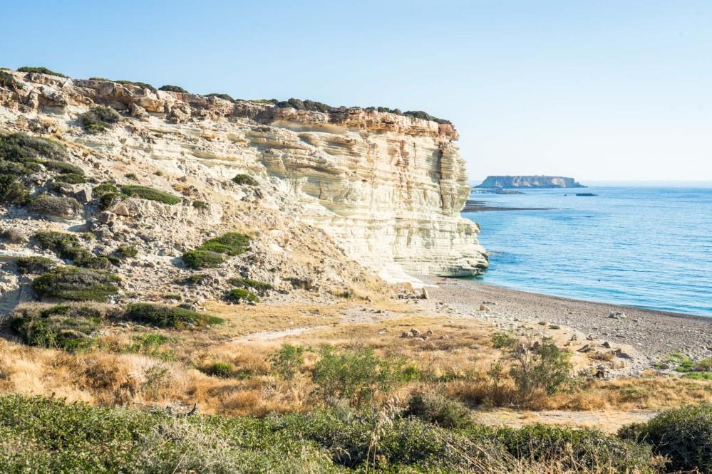 The chalk cliffs of Akamas Peninsula – © Michael Turtle