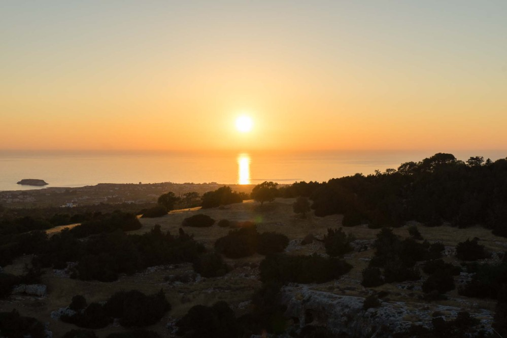 From the villages above the Akamas Peninsula, there are terrific views of the sunset. – © Michael Turtle