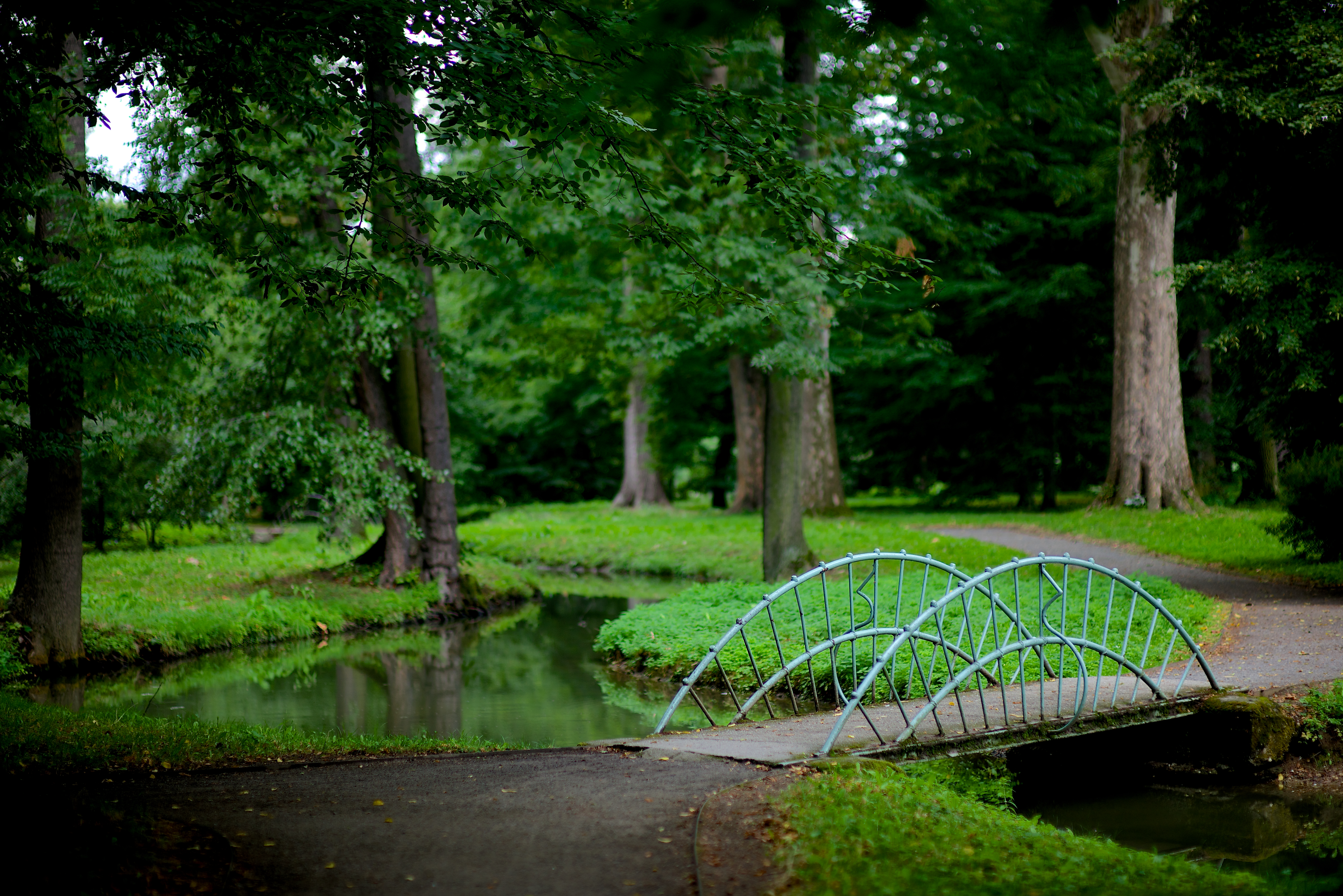 The Castle Garden is a perfect place for a walk during the whole year. - © Tomas Vrtal