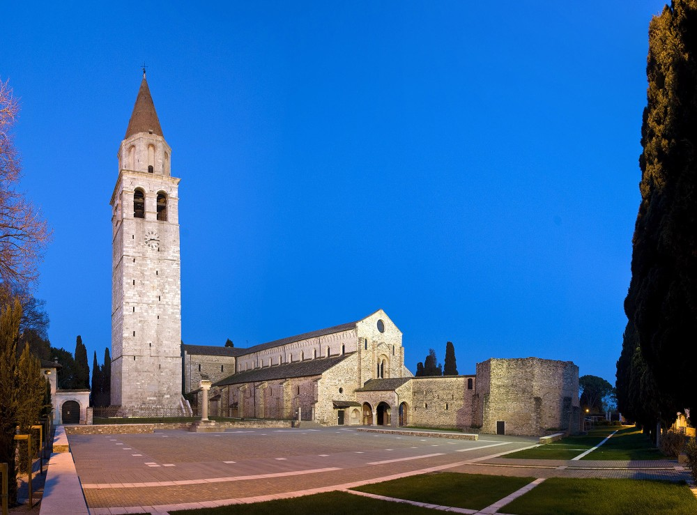 A view of the historic centre of Aquileia, World Heritage Site of UNESCO since 1998: its Basilica and archaeological area rank among the most important Roman sites of all Italy. – © Gianluca Baronchelli