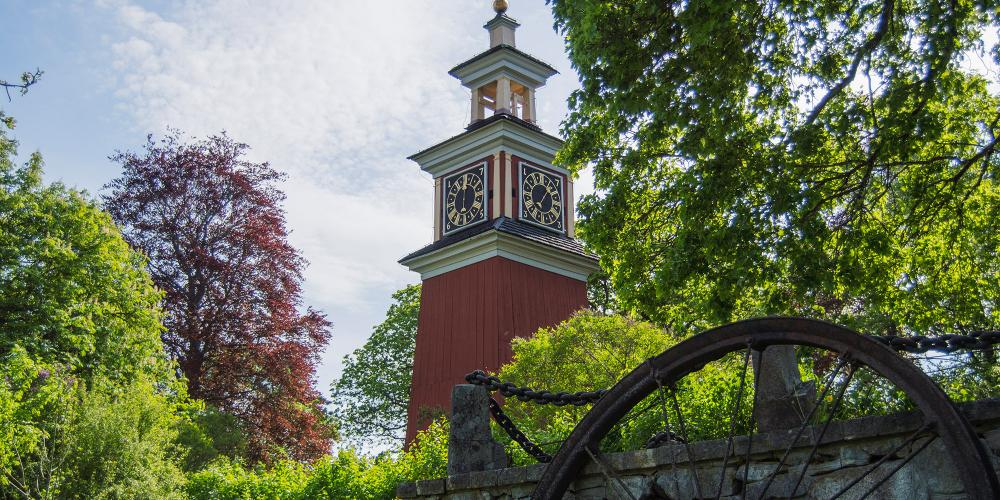 The Clock Tower is one of the oldest and most beautiful buildings in the mining area. – © Andreas Vollmer