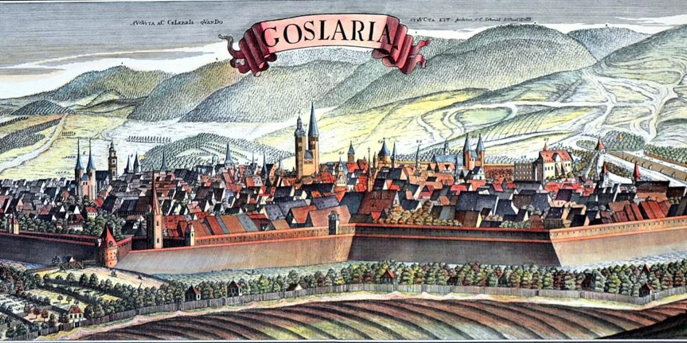 The City of Goslar by Christian Andreas Schmid (1732)