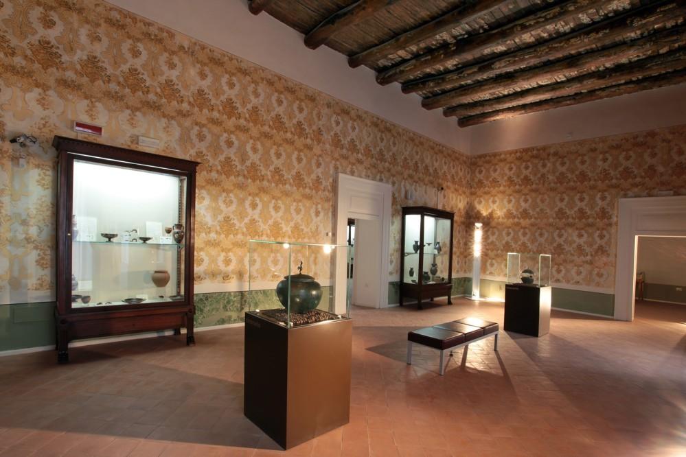 Aristocracy Hall of the Archaeological Museum of Ancient Calatia – © Archivio Polo Museale della Campania