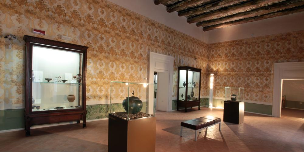 Aristocracy Hall of the Archaeological Museum of Ancient Calatia – © Archivio Polo Museale della Campania