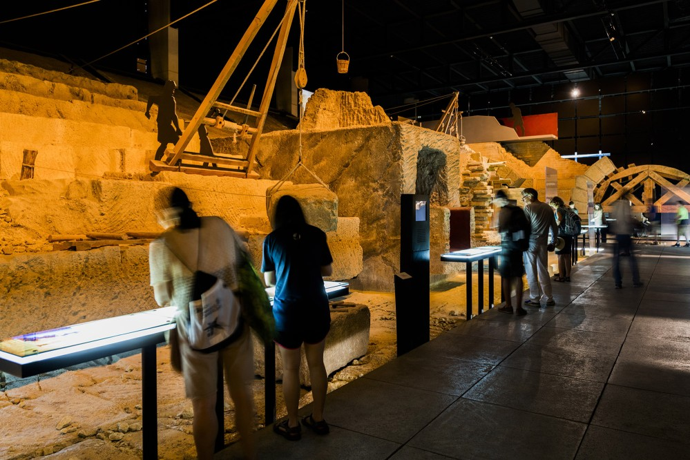 Discover the largest centre synthesising the Roman World through the story of the Nîmes aqueduct. – © Aurelio Rodriguez